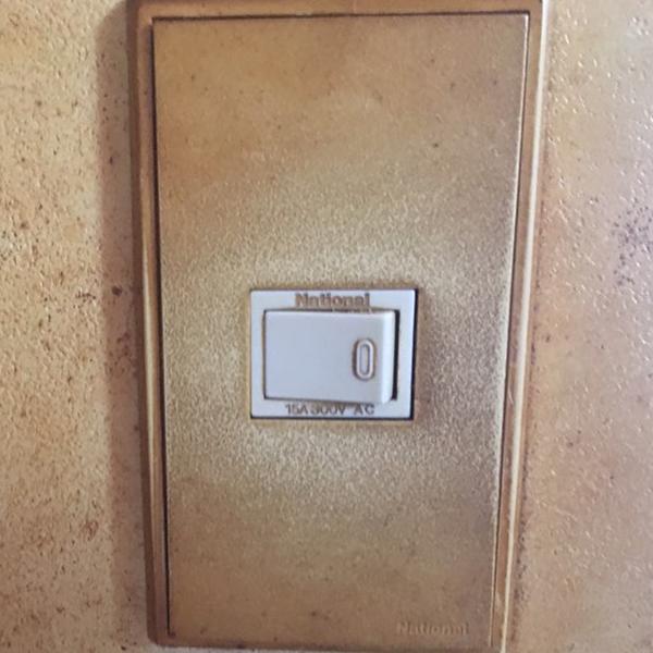 劣化したスイッチ